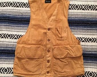 Vintage 1930s DryBak Hunting Vest Size S/M (40)