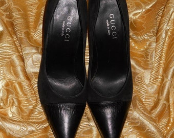 Genuine Gucci shoes!! Genuine leather and suede - Made in Italy