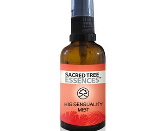 HIS SENSUALITY MIST Shamanic Aura & Space Spray a synergy of  sacred Amazonian master plants, essential oils and icaros, medicine songs.