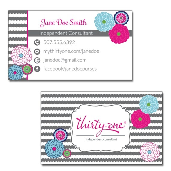 Items similar to Thirty e Consultant Business Cards