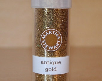 Martha Stewart Antique Gold Glitter