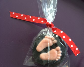 Baby Feet Chocolate Covered Oreos