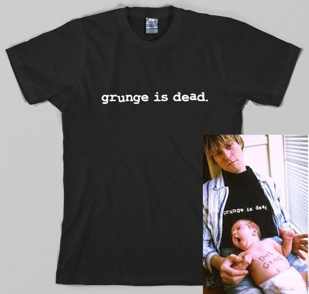 Black t shirt grunge -  Zoom
