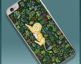 Lion and Lamb Tapestry Smartphone Case for iPhone 6 and 6s (SP620)
