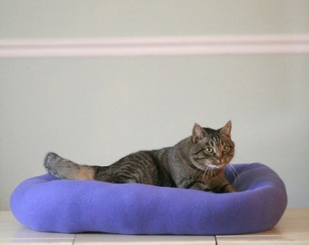 Cat Bed - Extra Large Fleece Dog Bed - Fleece Bed - Dog Bed - Pet Bed - Fleece Dog Bed - Custom Pet Bed - Big Dog Bed - Washable Bed