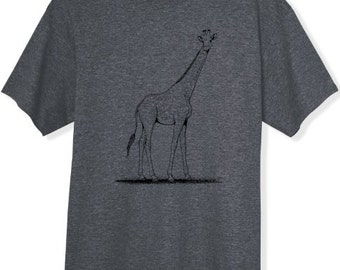 Giraffe Tshirt S M L XL XXL you choose color shirt Gifts for Her Gifts for Him