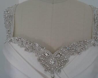 CELESTE. Stunning Encore, Size 10, Bridal blush, Wedding Dress.