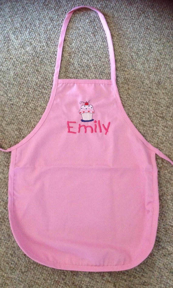 Children's Personalised Apron by DunnonTimeEmbroidery