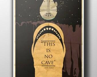 """Star Wars Space Slug """"This is no cave"""""""