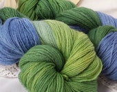 Mountain Lake - Primo fingering Merino/Cashmere/Nylon - SALE 20USD+ship 2 available Introductory price!