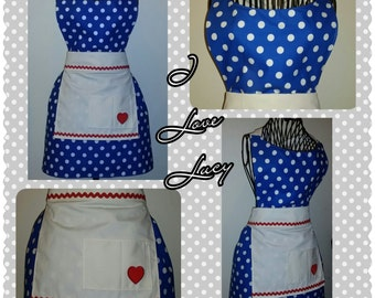I Love Lucy Apron