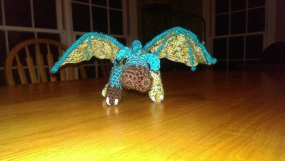 Fierce Little Dragon Amigurumi Pattern : Fierce Little Amigurumi Dragon