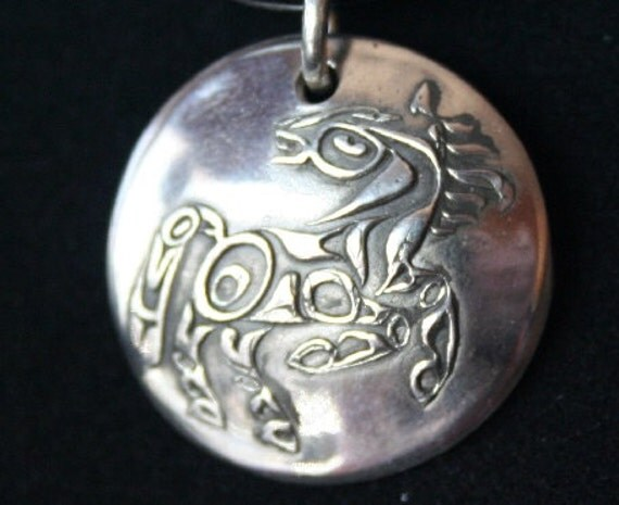 Horse in Sterling Silver