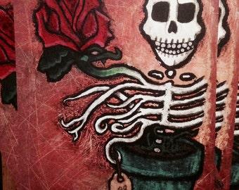 Dead Flower 11X14 Print
