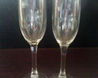 Champagne Flutes White Wine Glasses 2 of