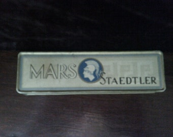 Mars Staedtler Pencil Tin + 6 pencils