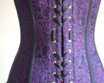 Handmade Victorian-style corset