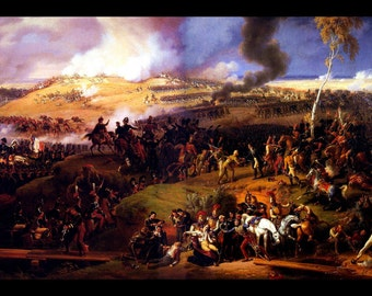 24x36 Poster; Battle Of Borodino, Sept 7, 1812 involving over 250,000 Troops & 70,000 Casualties, a Turning Point for Napoleon