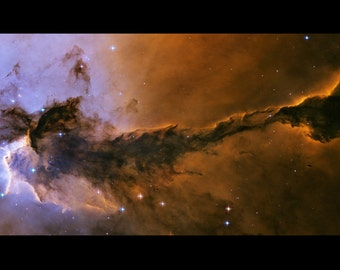 24x36 Poster; Fairy Of Eagle Nebula Hst