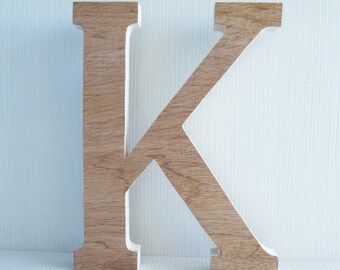 20cm/25cm Decorative cutout wooden greek and latin unfinished letters for sorority or decoration.