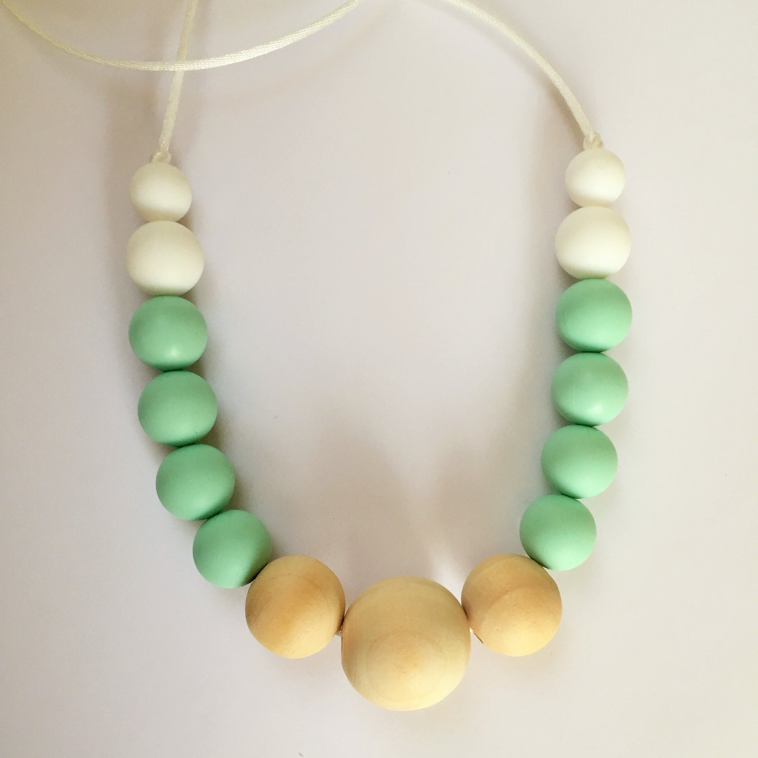 jewelry silicone necklace teething silicone by