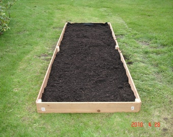 Brand New Raised Garden Planter, 4 feet by 10 feet, almost 6 inches high - Free Shipping
