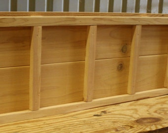 brand new 48 inch cedar planter box decorative style wooden flower bed