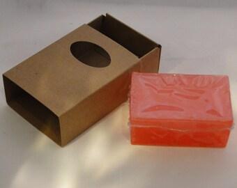 Pink Grapefruit Glycerin Soap