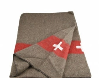 Swiss Army Reproduction Blanket
