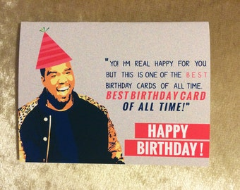 Popular items for kanye west card on Etsy