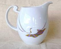 Rosenthal Asymmetria/Asimmetria Gold Flower/Goldblume Creamer