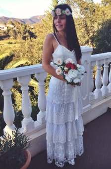 Bohemian Wedding Dresses Hippie In Ga Bohemian wedding dress with