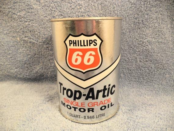 Phillips 66 Trop Artic Single Grade1 Quart Motor By