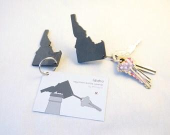 Idaho keychain bottle opener
