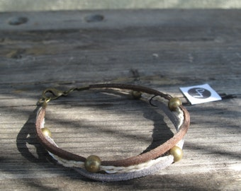 Three Bracelet-Summer Tones by Laugh at you Handmade