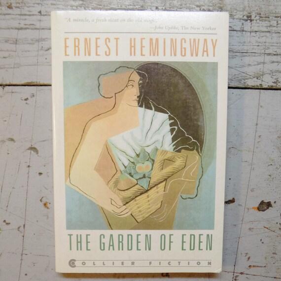 Garden Of Eden Ernest Hemingway Pb 1987 By Gonefiction On Etsy