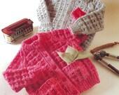 jackets chunky knitting pattern 99p