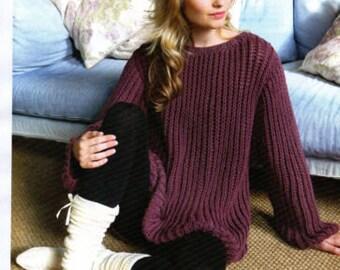 ladys jumper knitting pattern 99p