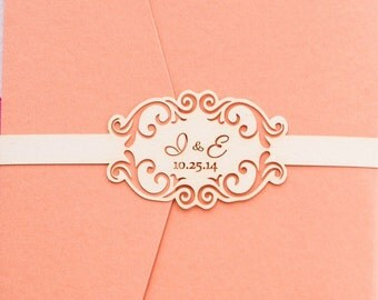 Wedding Invitation Belly Band