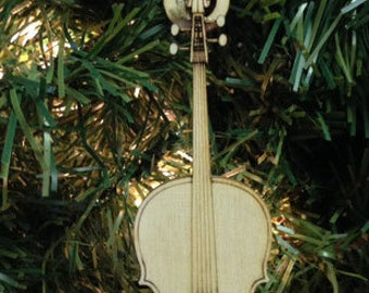 Cello Personalized Christmas Ornament