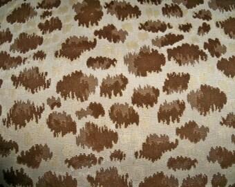 BRUNSCHWIG & FILS ZAMBEZI Grospoint Velvet Fabric 10 Yards Brown