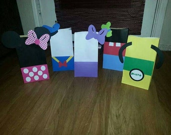 30 Mickey Mouse Clubhouse Party Favor Bags