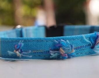Sky Blue Cat Collar