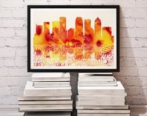 Tampa home decor tampa home decor tampa art print for wall tampa poster wall decor wall Home decor tampa