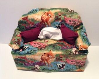 sofa tissue box cover-- Bambi & Sofa tissue box | Etsy Aboutintivar.Com