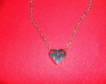 D.i.y. chain LEGO heart partner friendship necklace