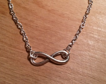Chain silver love infinity love infinity symbol forever