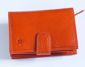 Leather Handmade Italian Wallet - Liquidation Pricing
