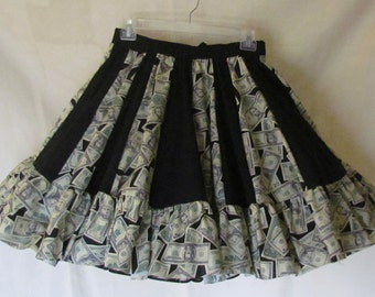 In the Money - Square dance skirt