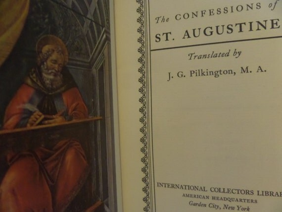 essays on st augustines confessions Essays, term papers, book reports, research papers on philosophy free papers and essays on st augustine's confessions we provide free model essays on philosophy.